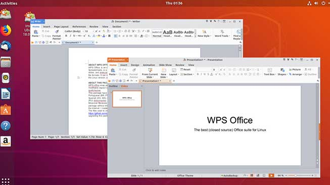 WPS Office and PDF